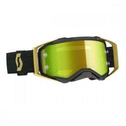 Scott Works Prospect cross szemüveg, fekete-arany, tükrős lencsével