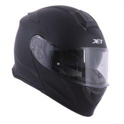 Jet Rumble matte black bukósisak