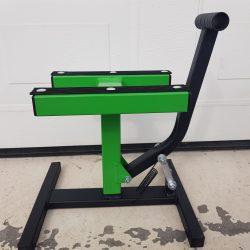 MX Works Light motoremelő bak, zöld-fekete színben