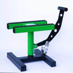 MX Works Pro motoremelő bak, zöld-fekete színben